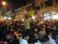 Late Night Kite-Market Baroda