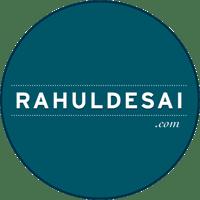 Rahul Desai Com Round Logo